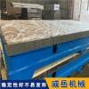 西安铸铁t型槽平台2*4米 铸铁平板 河北威岳