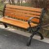 雅亭家具供应户外休闲椅公园小区长条椅YT-S34