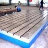 铸铁平板带槽加厚八折起 老厂批发铸铁平台