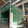 自动伸缩喷漆房10m以上配置及价格